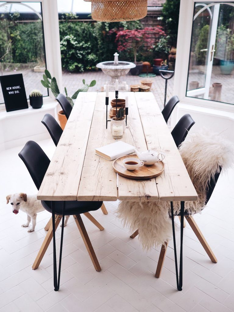 OUR DIY DINING TABLE – THE DO'S & DON'TS! By Break The Loop
