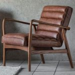 Occasional Chair York in Leather