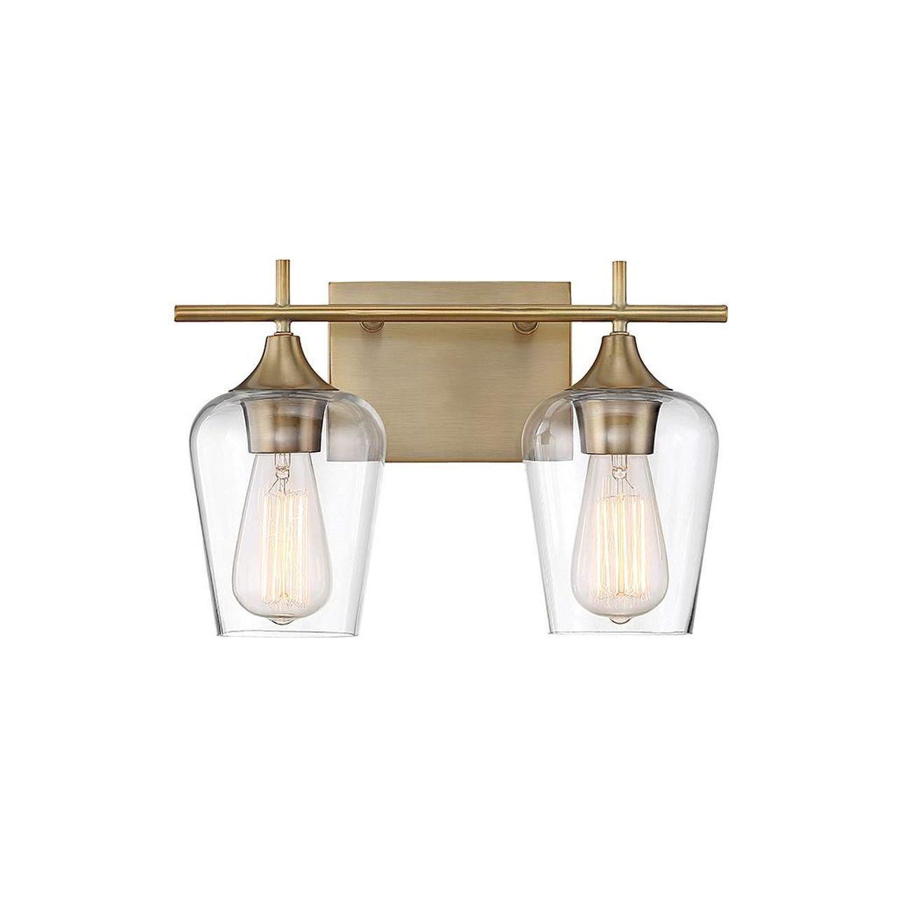 Octave 13 Inch 2 Light Bath Vanity Light | Capitol Lighting