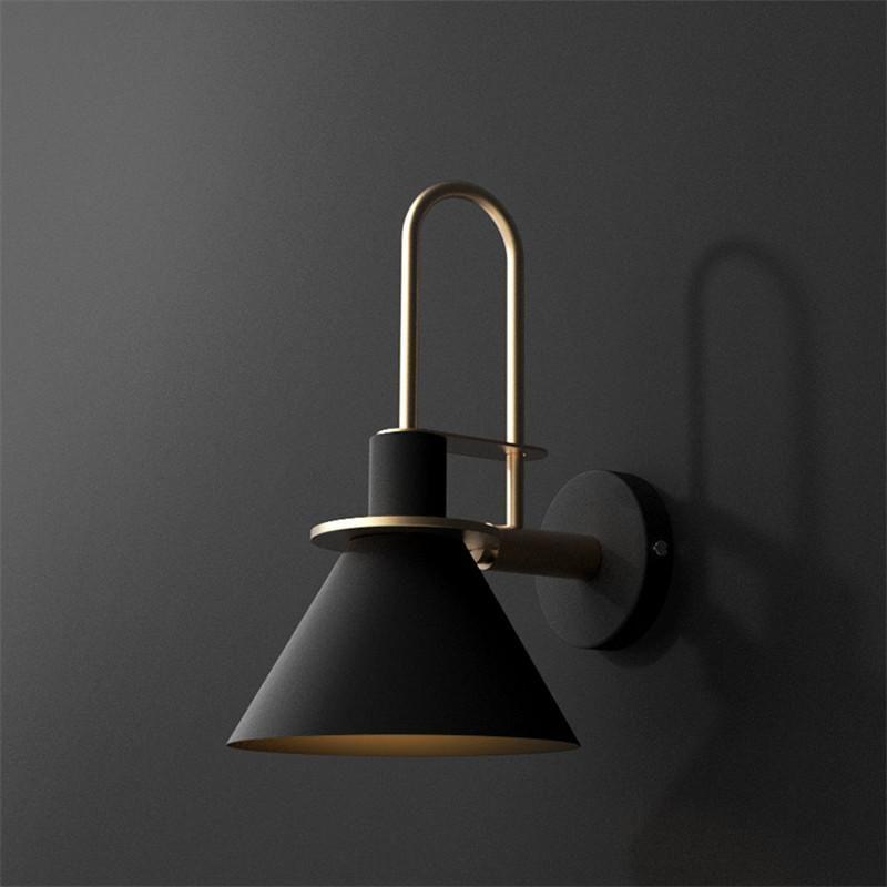 Oklak – Nordic Wall Light Black