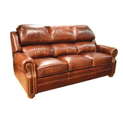 Omnia Leather San Juan Leather Reclining Sofa   Wayfair