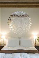 Optical Spiral Wall Decal   Reflective Mirror Decals
