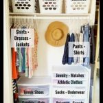 Organize Closet - Clothes Storage Ideas For Small Closets