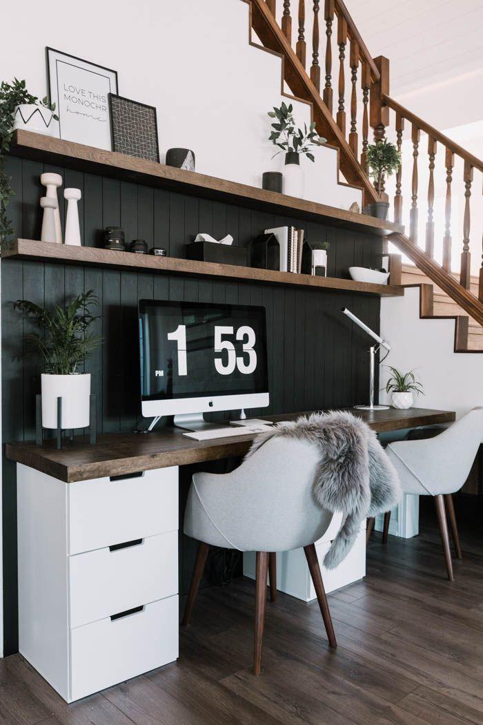 Our DIY Computer Desk Reveal – Love Create Celebrate