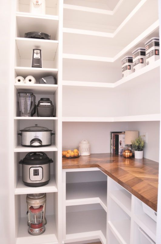 Our DIY Custom Walk-In Pantry Progress and Reveal! – pickndecor.com/design