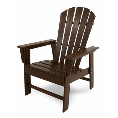 POLYWOOD® South Beach Casual Plastic Adirondack Chair | Birch Lane