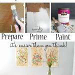 Paint Furniture in 3 Simple Steps - Prodigal Pieces