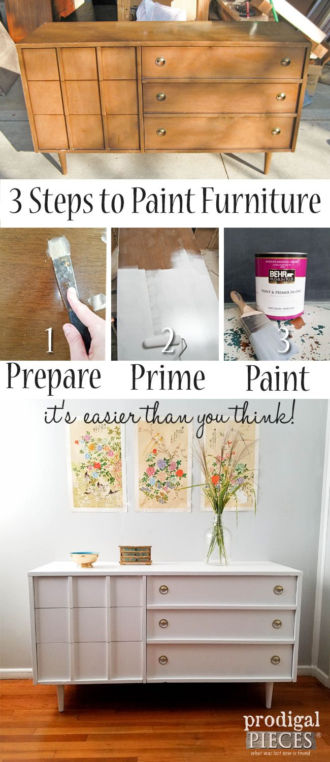 Paint Furniture in 3 Simple Steps – Prodigal Pieces