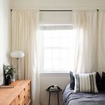 Pair of Cream linen curtains, ivory cream drapes window treatments, custom curtains, extra long curtains