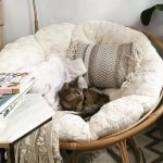 "Papasan Natural 45"" Chair Bowl"