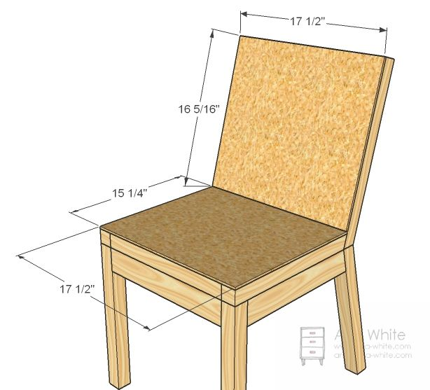 Parson Chair Plans | Ana White