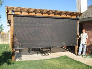 Patio shades are a quick, inexpensive way for you to start enjoying your patio s…