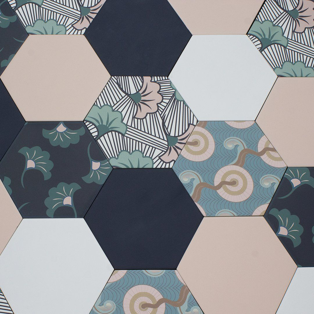 Patterned Tiles Online Toronto, Fish Scale, Samples, Floor Tile Shop