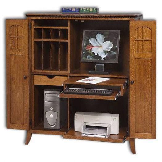 Petite Mt. Eaton/Bunker Hill Computer Armoire
