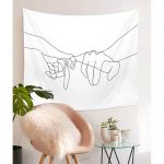 Pinky Swear Wall Tapestry