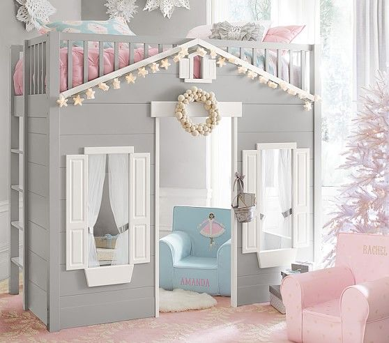 Playhouse Loft Bed