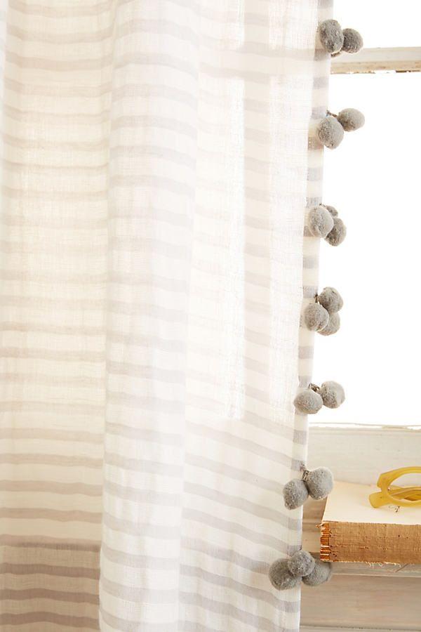 Pom Tassel Curtain
