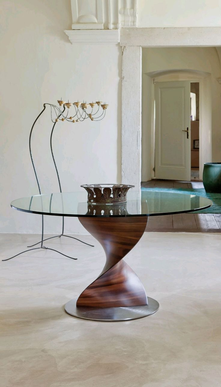 Porada Elika Glass Dining Table | Contemporary Dining Room Furniture – Ultra Modern