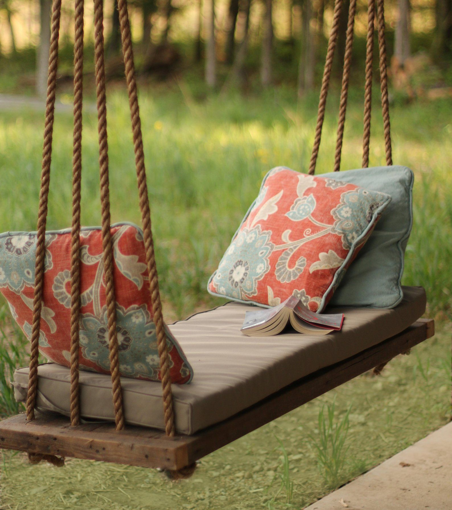 Porch Swing / Bench – Outdoor Seating – Rope Swing – Tree Swing