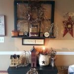 Primitive Living Room Wall Decor 21