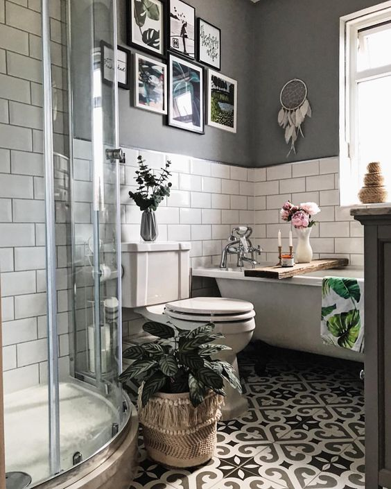 Proof that size doesn't matter; even small bathrooms can benefit from the grey…