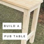 Pub furniture DIY
