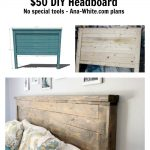 Reclaimed Wood Headboard, Queen Size | Ana White
