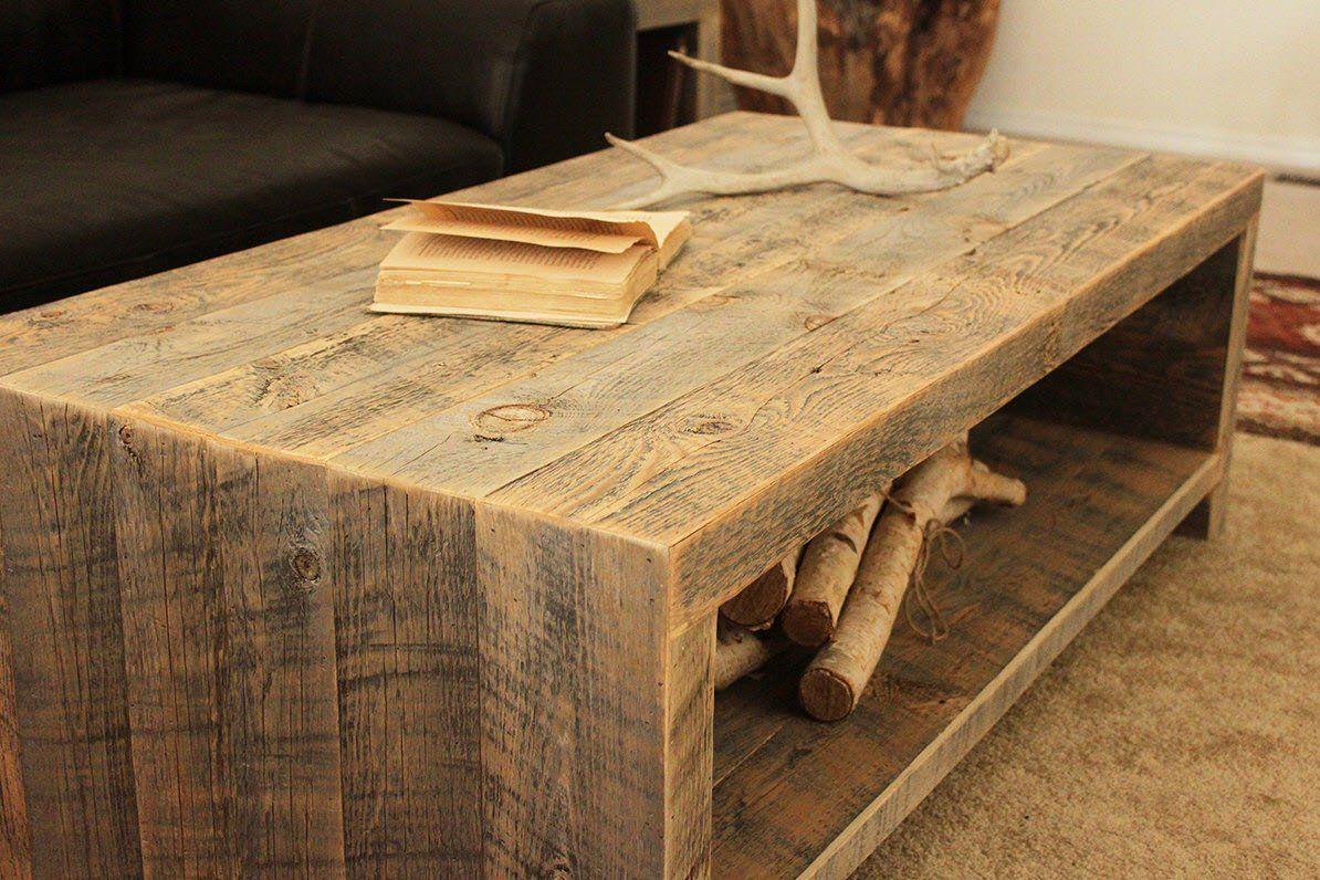 Reclaimed Wood Telluride Coffee Table
