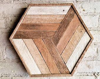 Reclaimed Wood Wall Art | Wood Wall Art | Wood Decor | Geometric Wood Art | Wood Wall Decor | Modern Wood Art | Wood Wall Decor | Wood Art |