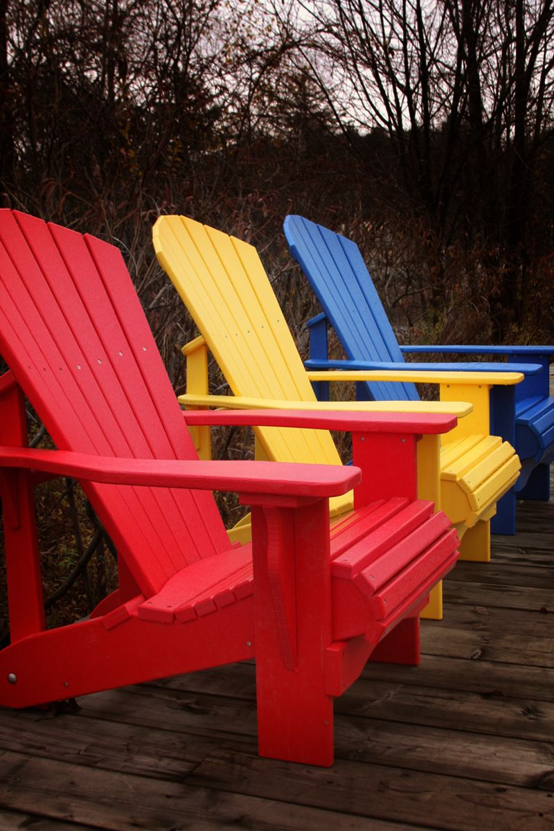 Recycled Plastic Chairs — Muskoka Chair Company