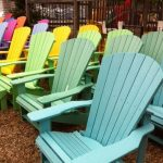 Recycled plastic adirondack chairs are   ergonomic
