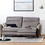 Regine Leather Power Reclining Sofa