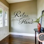 Relax You're Home - Welcome Wall Art
