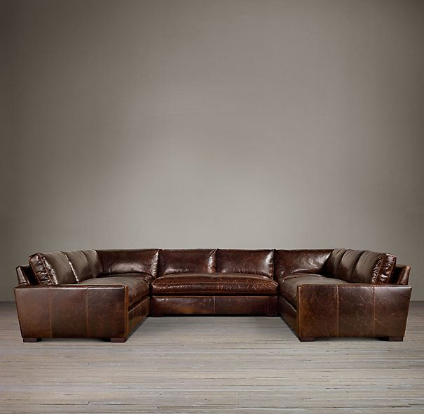 Restoration Hardware u shaped couch