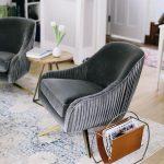 Roar & Rabbit™ Pleated Swivel Chair