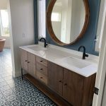 Room & Board -  				Linear Steel Base Bathroom Vanity Cabinets with Top 			- 				Modern Bathroom Vanities 			- 				Modern Bath Furniture