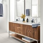 Room & Board -  				Modern Linear Vanity with Steel Base 			- 				Modern Bathroom Vanities 			- 				Modern Bath Furniture