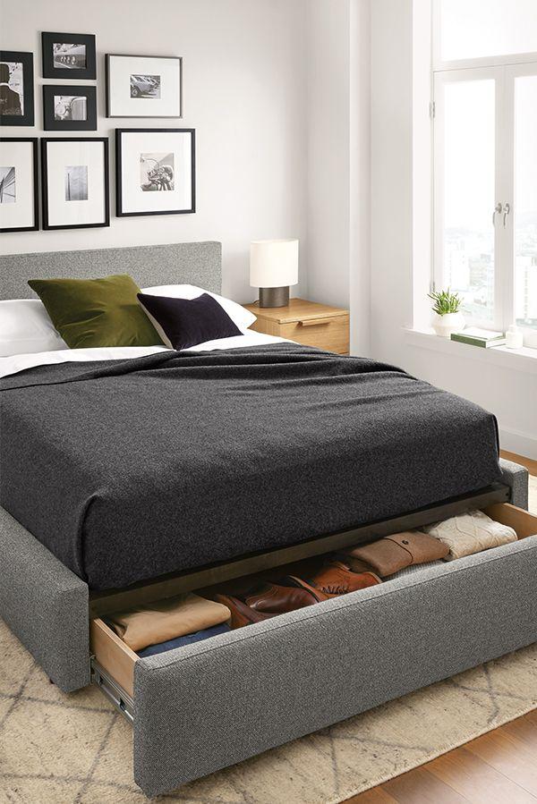 Room & Board –  Wyatt Upholstered Storage Bed – Modern & Contemporary Beds – Modern Bedroom Furniture