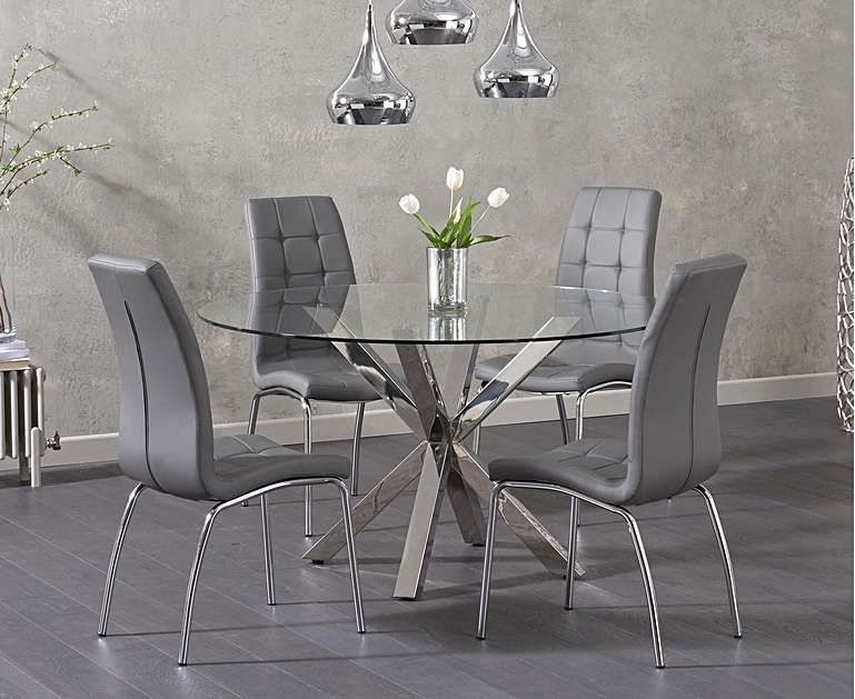 Round dining sets are perfect for creating cosy dining and drinking hubs in your…