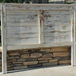 Rustic Headboard Farmhouse Painted and Heavy Distressed Queen, Twin, Full, King California King By Foo Foo La La