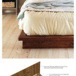Rustic Modern 2x6 Platform Bed | Ana White