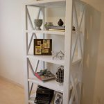 Rustic X Tall Bookshelf | Ana White