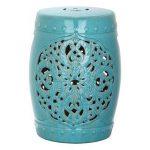 Safavieh Flora Ceramic Garden Stool | Kohls