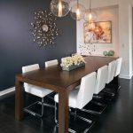 Salle à manger idées bois table à manger chaises cantilever blanc - worldefashion.com/decoration