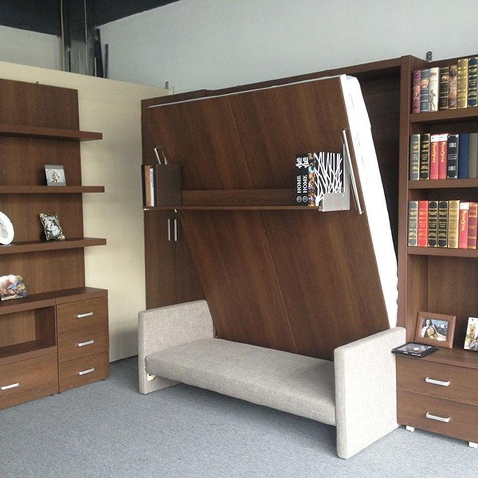 Saving space with creative folding bed ideas 43 – Rockindeco