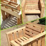 Self made chair, made completely from old pallets. Recycle upcycle reclaimed woo… - pickndecor.com/design