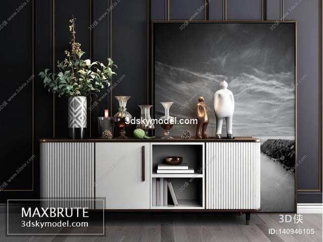 Sell Sideboard 2019 vol 2 set 3dsmax – Maxbrute Furniture Visualization
