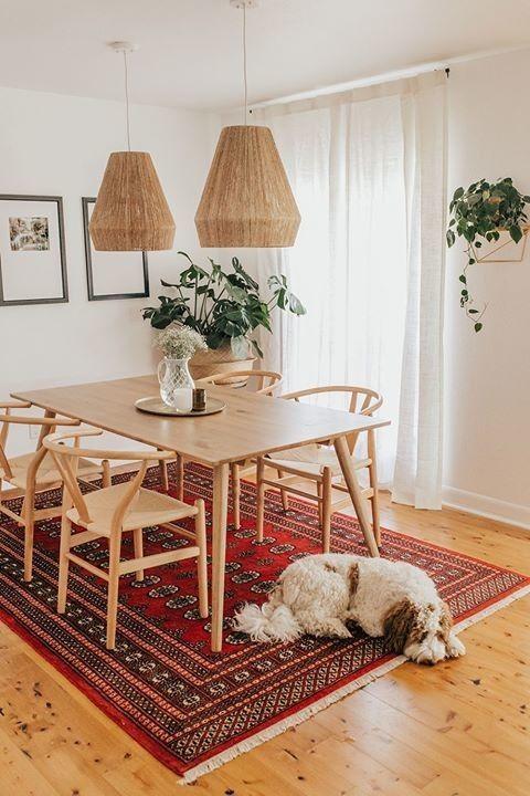Seno Oak Dining Table For 6