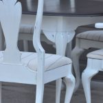 Shabby Chic White Dining Table and Chairs