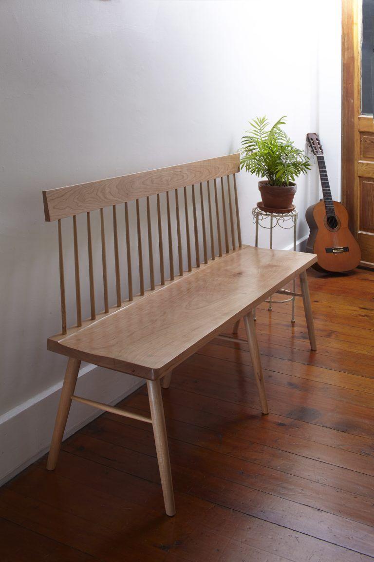 Shaker-Inspired Settee   Popular Woodworking Magazine